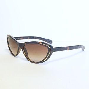 Chanel tortoise 6039 cateye sunglasses
